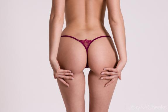 G-String Purple Temptation by Lucky Cheeks