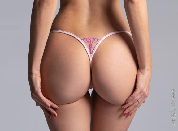Mini G-String pink - Queen of Love