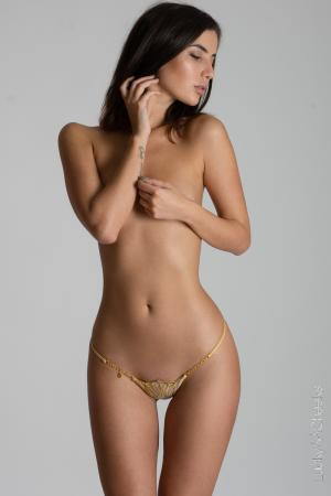 Queen of Love Gold Edition sexy Luxus String