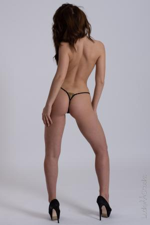 Sexy minithong - Queen of Love Black