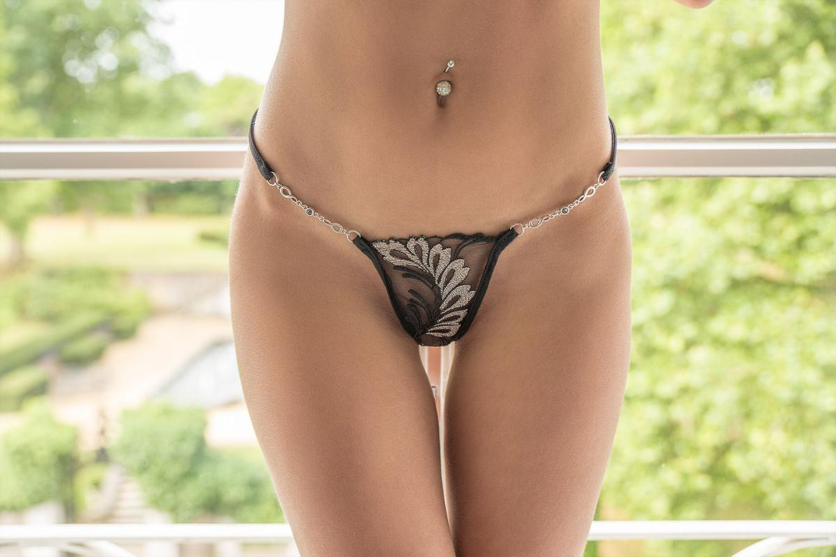 Silver Moon mini thong