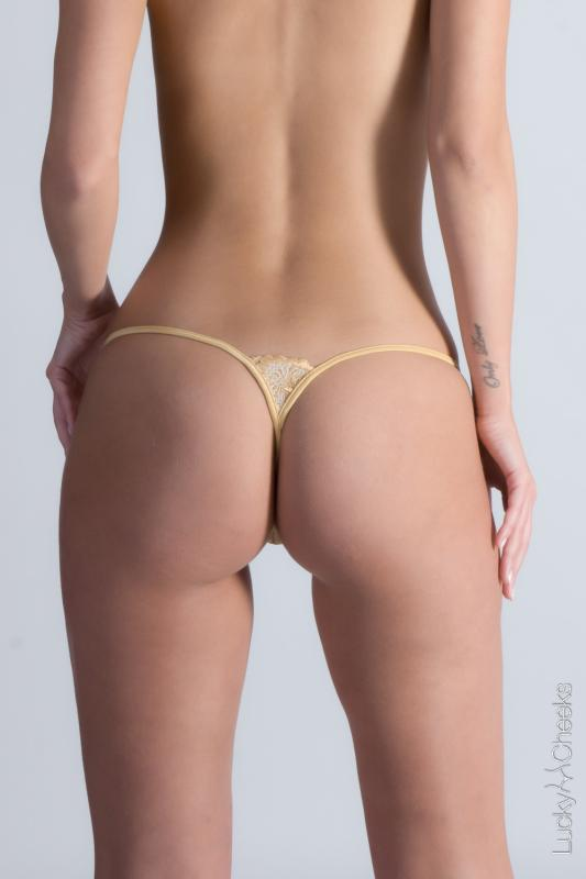 Damen G-String Gold Fever