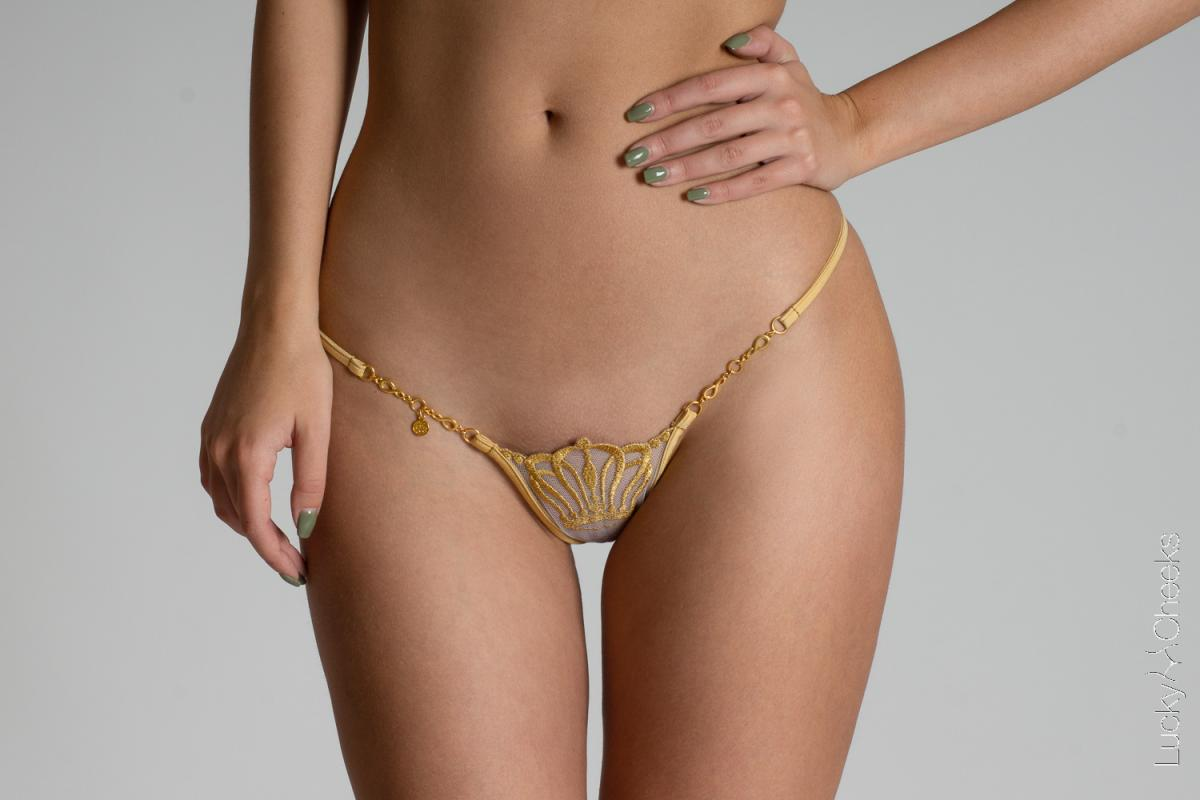 Queen of Love Gold Edition G-String