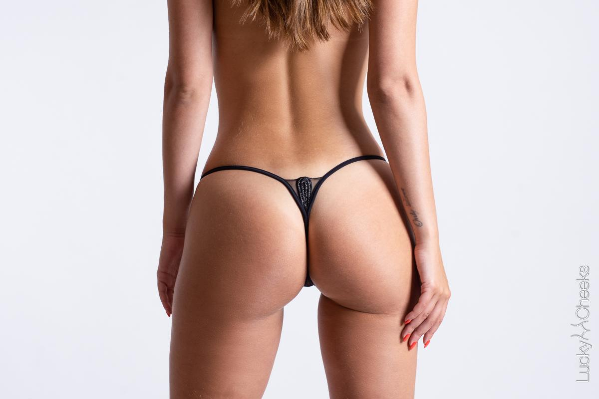 luxury woman's thong Celebrity - Lucky Cheeks G-String
