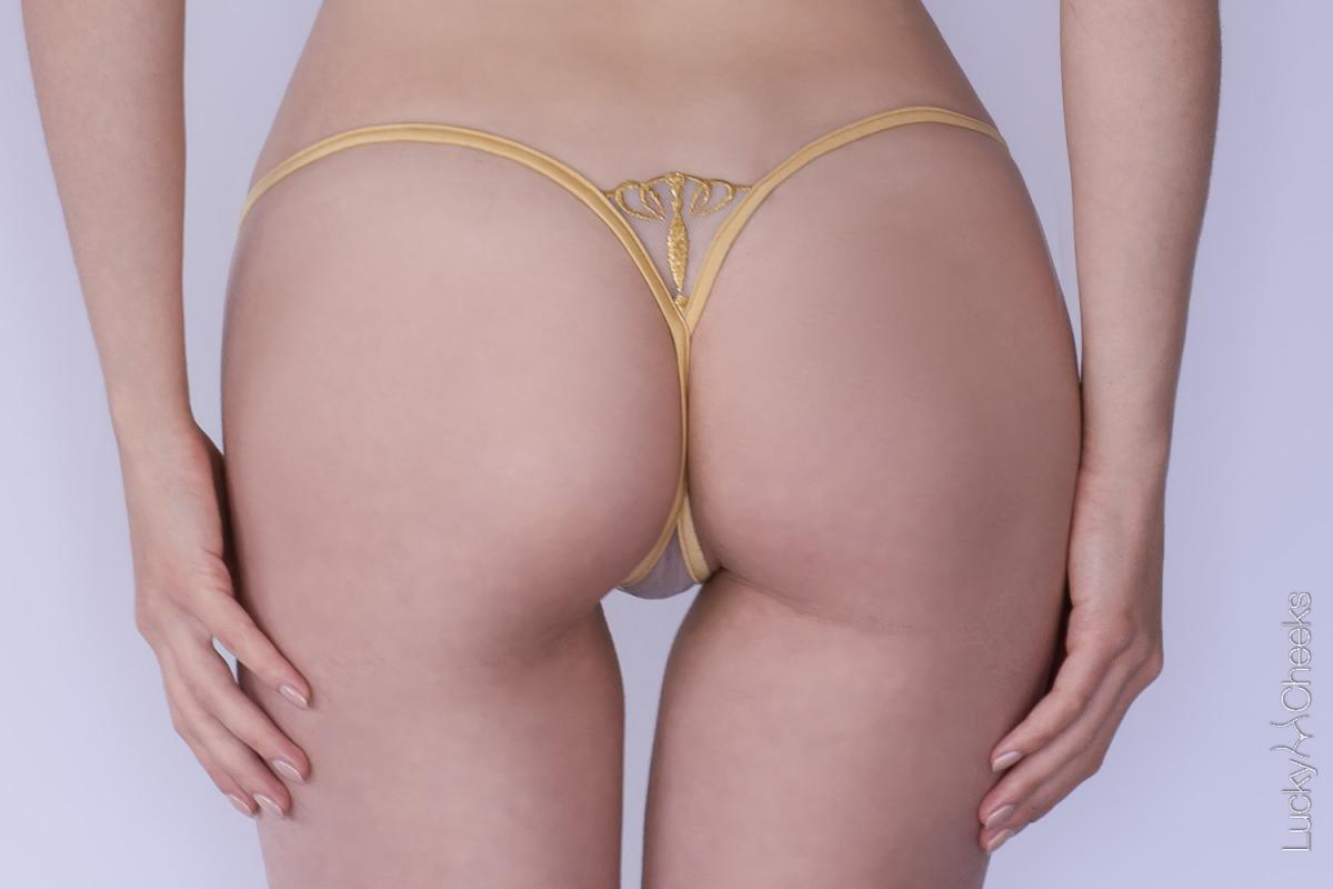 Queen of Love Gold Edition mini thong