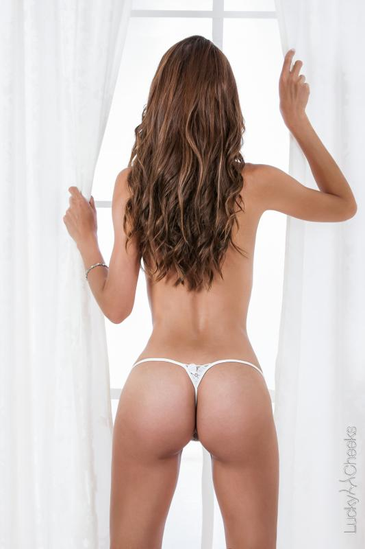 Ivory Pearl - mini luxury thong