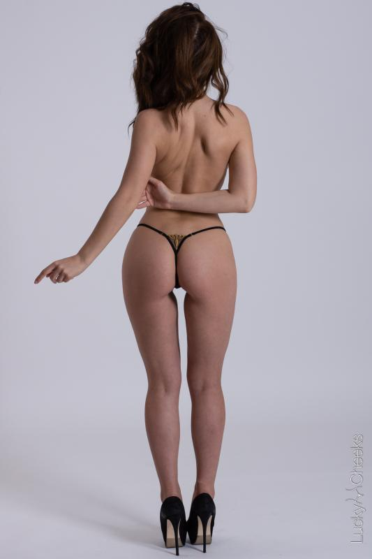 Sexy mini thong - Queen of Love Black