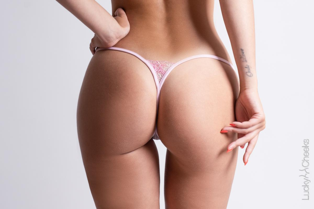 Luxury mini Gstring for woman - Crazy in Pink