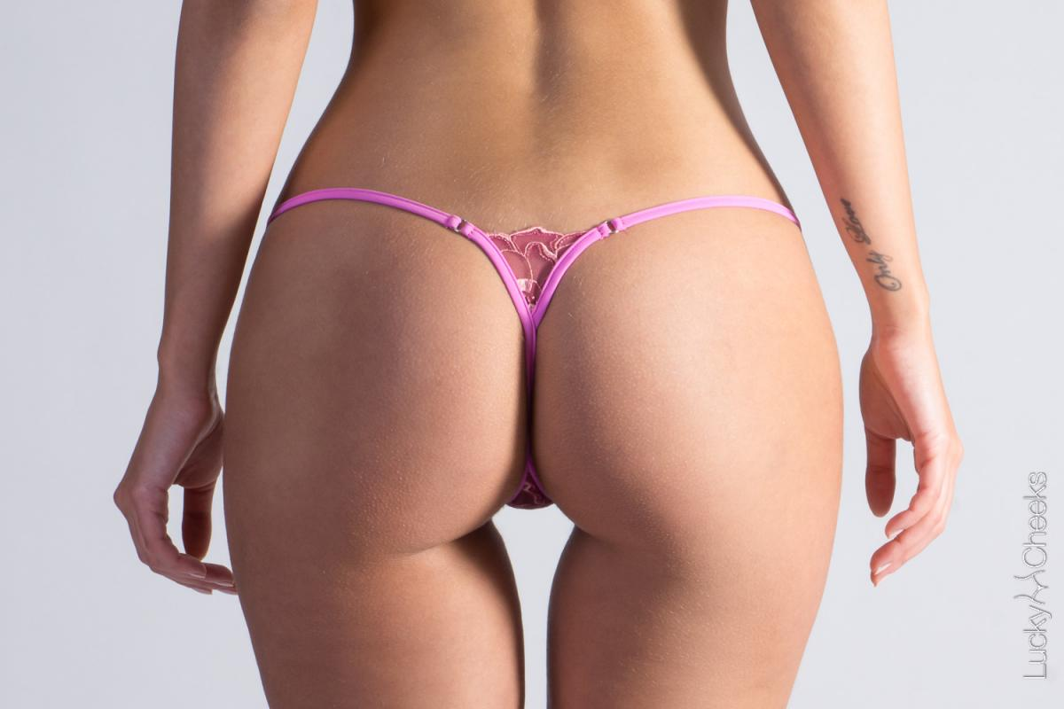 Sweet and Pink sexy String von Lucky Cheeks