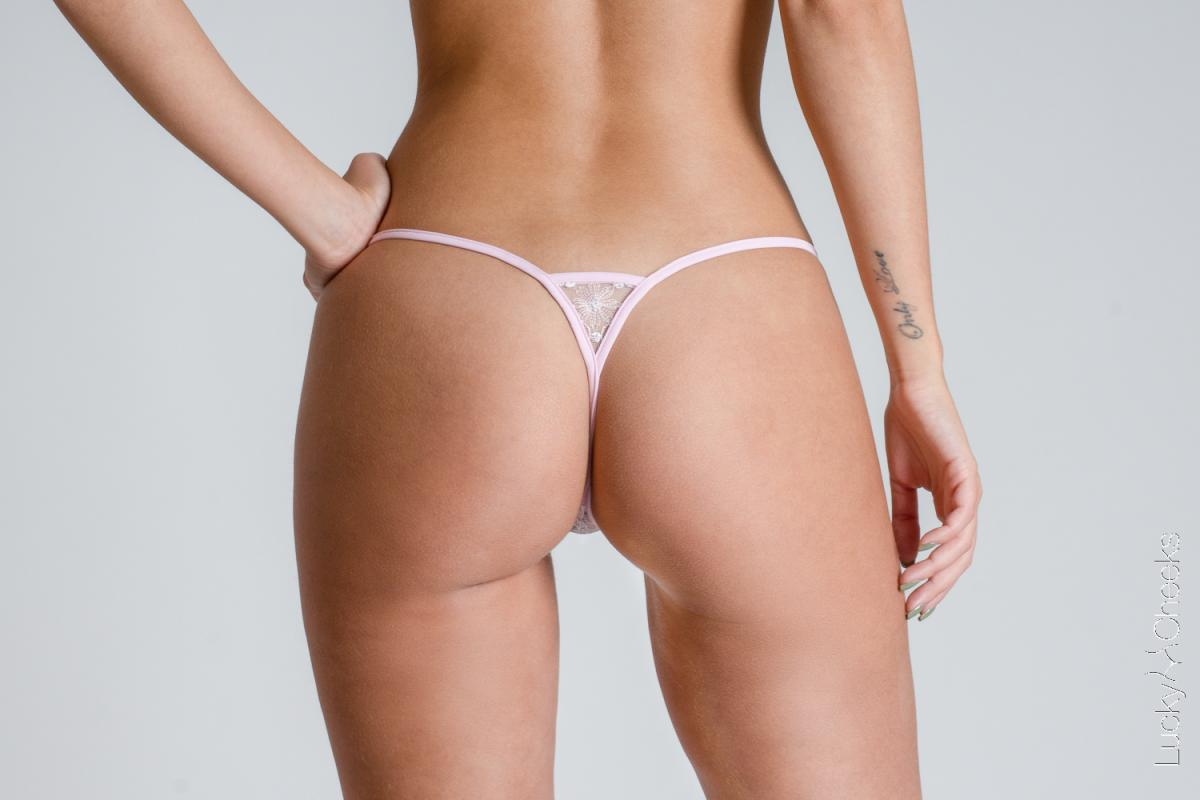 Soft Touch G-String rosa