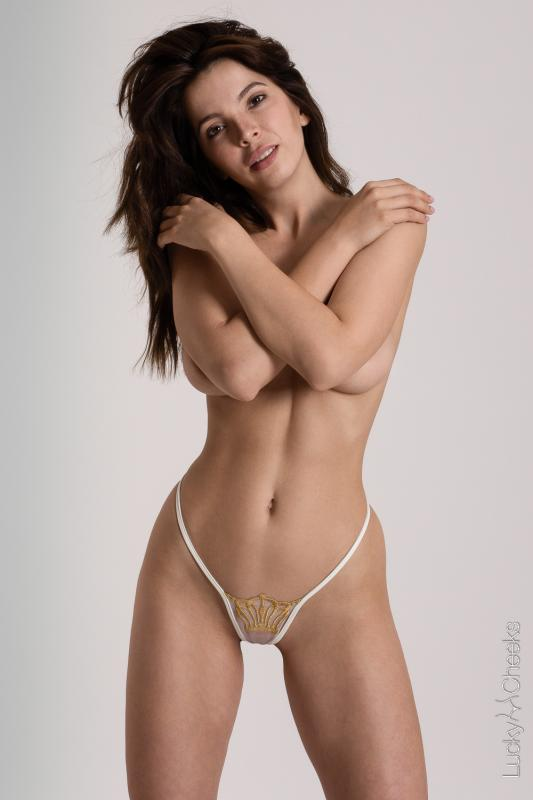 sexy thong transparent for ladies - Queen of Love Ivory
