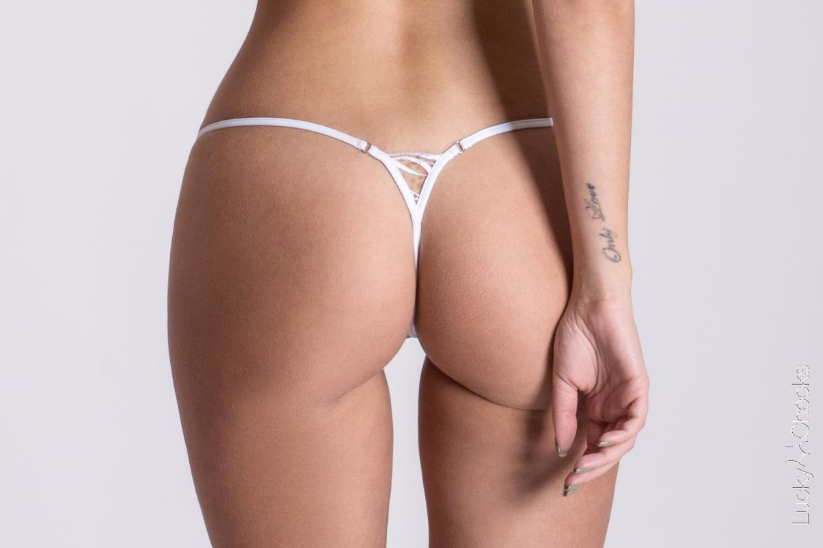 Lucky Cheeks lingerie - The Breeze G string