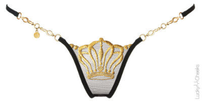 Queen of Love - Luxus Mini G-String